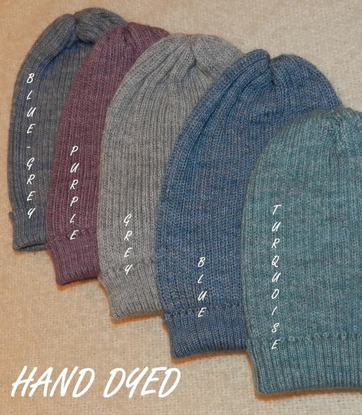 BEANIES - Made from an Alpaca/Bamboo Blend in 3 different styles   Fishermans Rib / Cable & Multi Cable , In natural colours