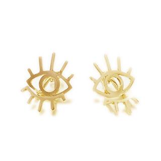 Ocean Eye Stud Earrings