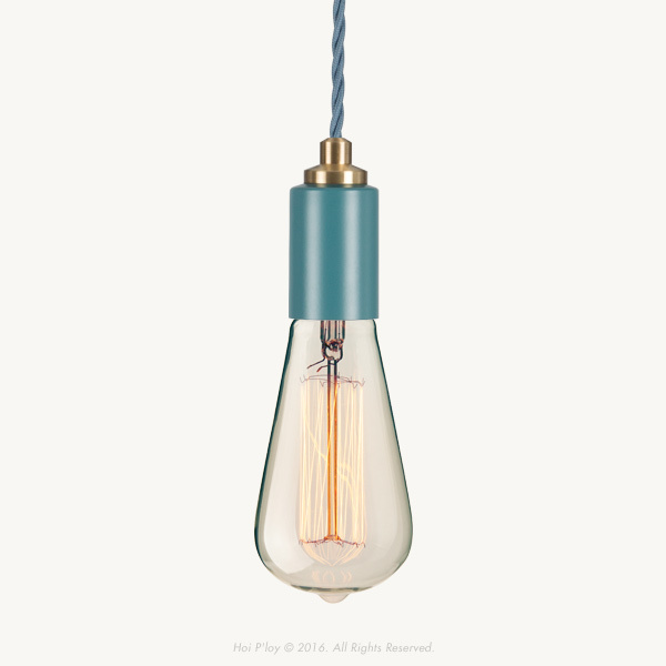 We'd like to introduce our latest colour range of Signature Pendants that come in Stone Grey, Winter Blush, Misty Mint, Harbour Teal and White. They're unique with their twisted cord and machined brass detailing.  Select your required length for the Fabric Cable Cord by clicking on the drop down box above.  Lengths are available with an option including a Vintage Squirrel Cage Bulb, at an additional R100.00  The light is100% made and assembled in Cape Town.  Please allow 1- 2 working days for the order to be completed and 3 working days for delivery. We will be in touch as soon as the order has been placed and payment received.