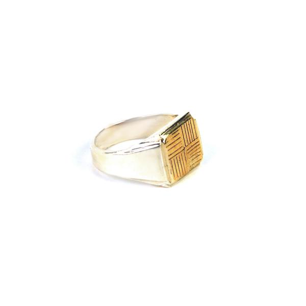 Smaller Square Signet Ring (unisex)