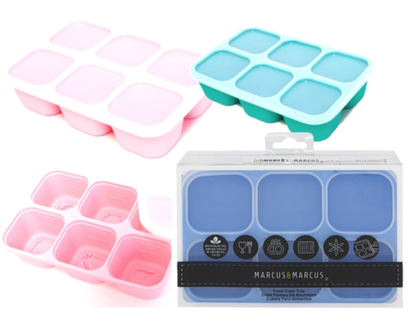 Silicone Easy Pop Out Food Cube Tray