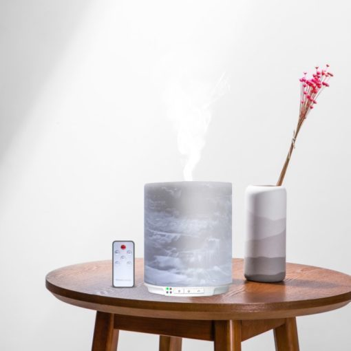 Candle Ultrasonic Essential Oil Aroma Diffuser
