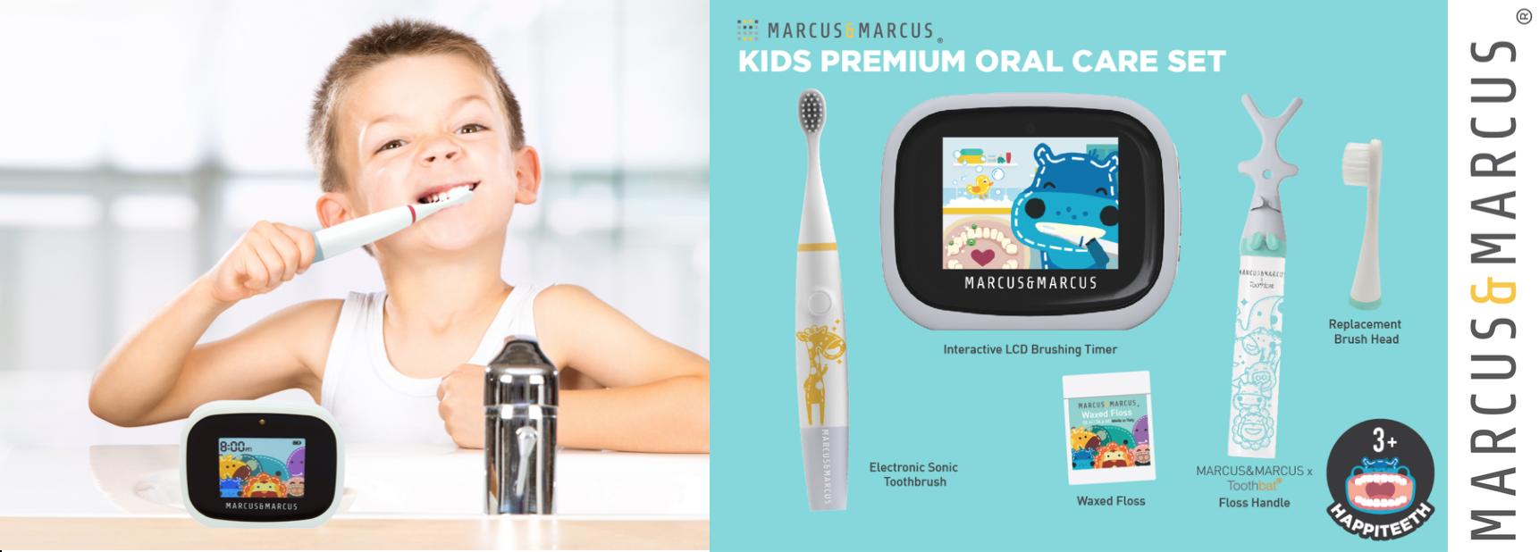 Oral care set slider