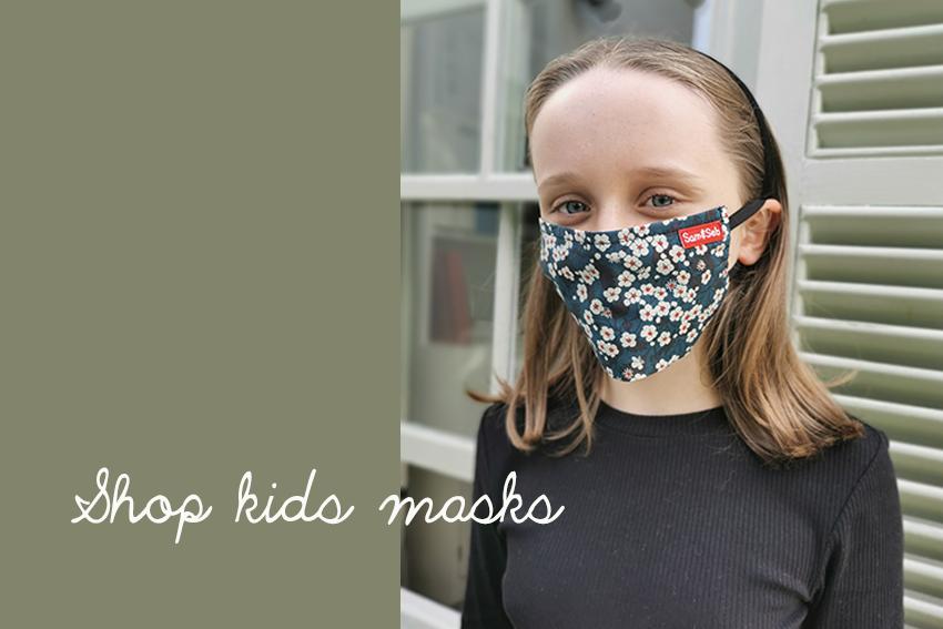 Kid masks slider